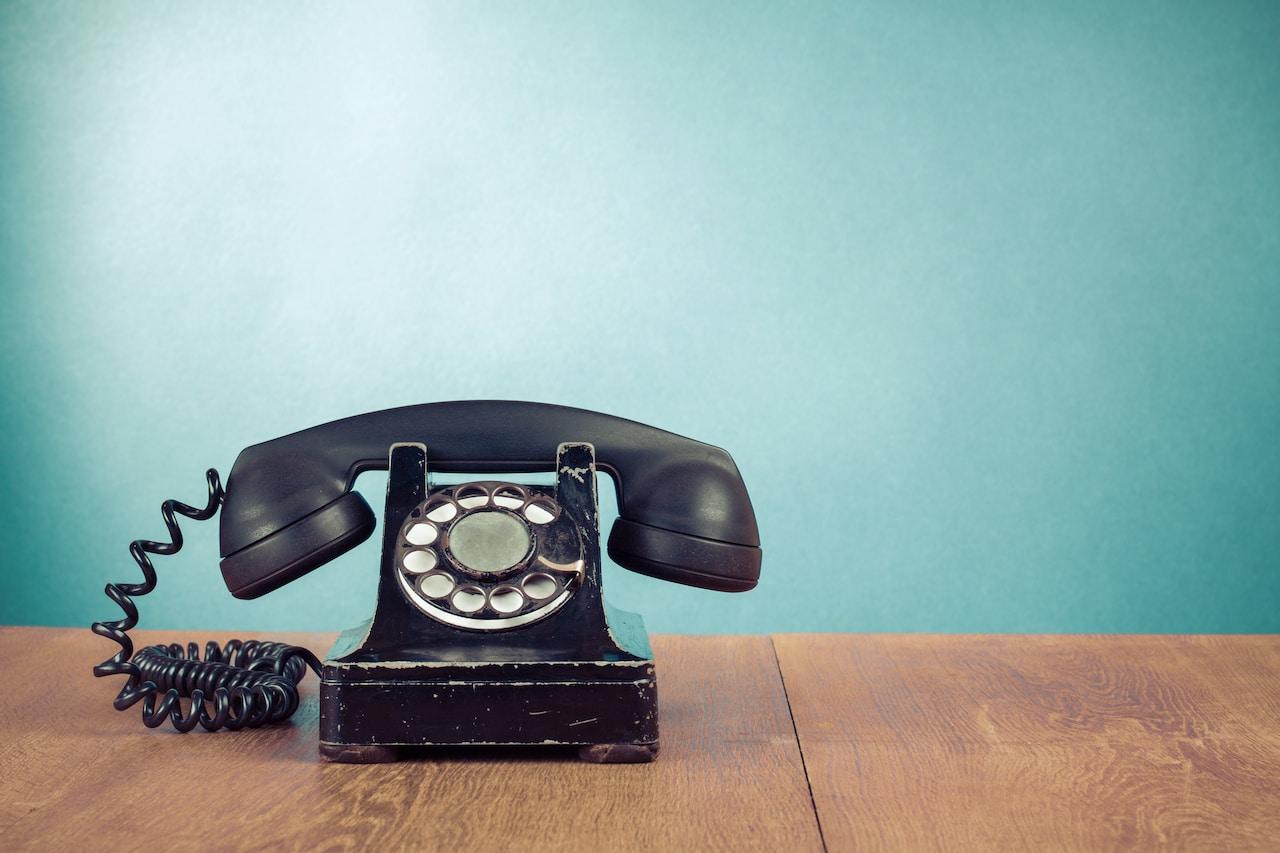 Kontakt Altes Telefon