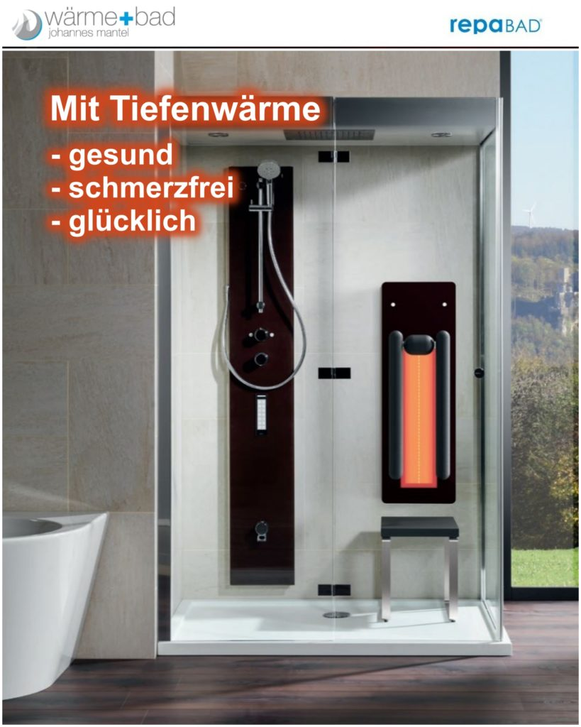 Tiefenwärme für Bad und Dusche