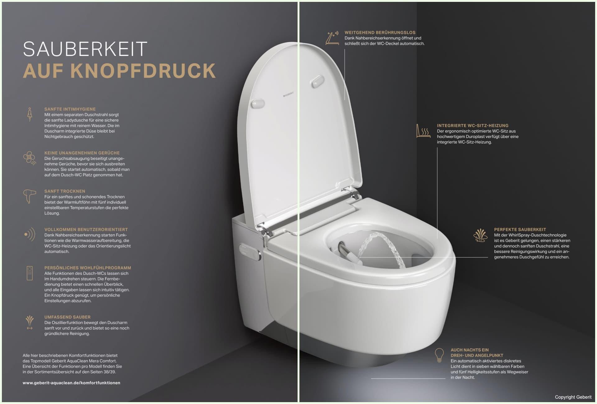 Geberit Dusch WC - © Geberit